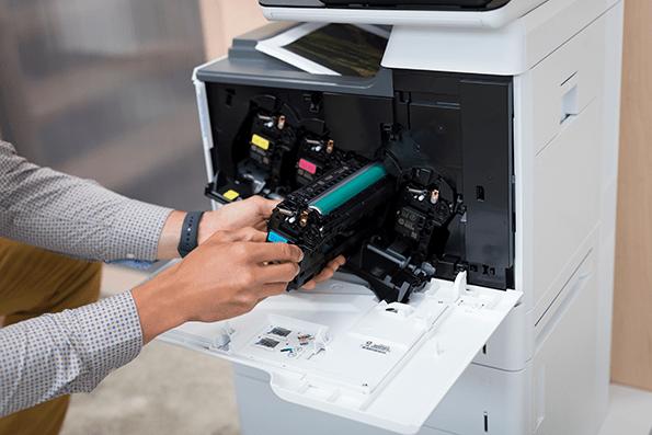 Es mejor optar por los consumibles originales en una impresora.