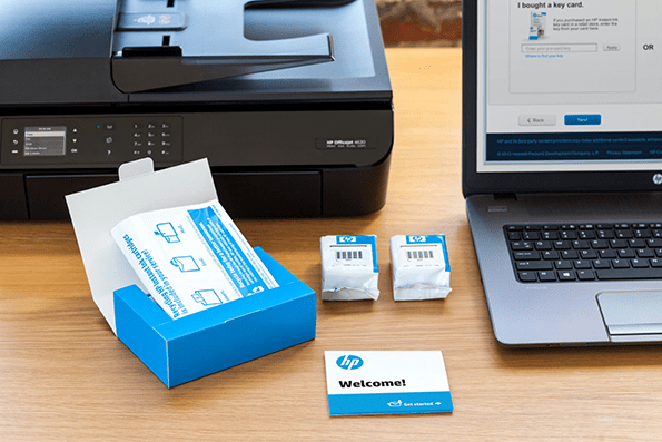 El servicio de HP Instant Ink.