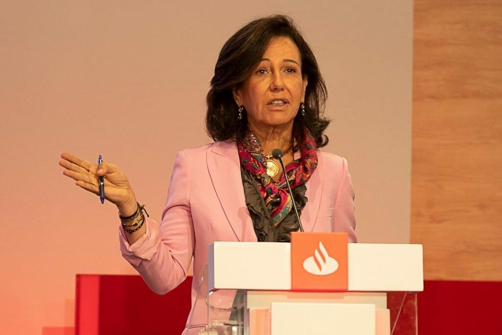Ana Botín, duranta el Santander Investor Day 2019.