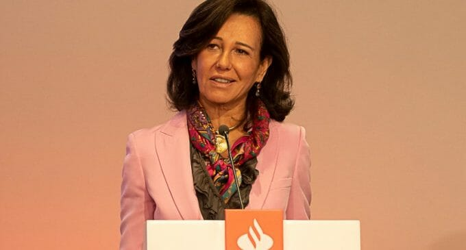 Banco Santander invertirá 20.000 millones en tecnologías