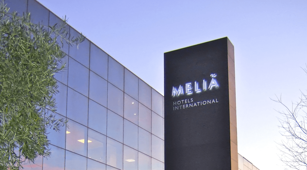 Meliá Hotels International.