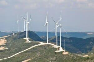 Energía eólica de Endesa.