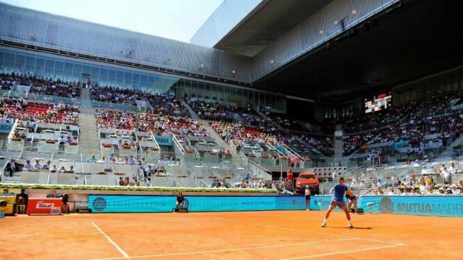 El Mutua Madrid Open se juega en la Caja Mágica.