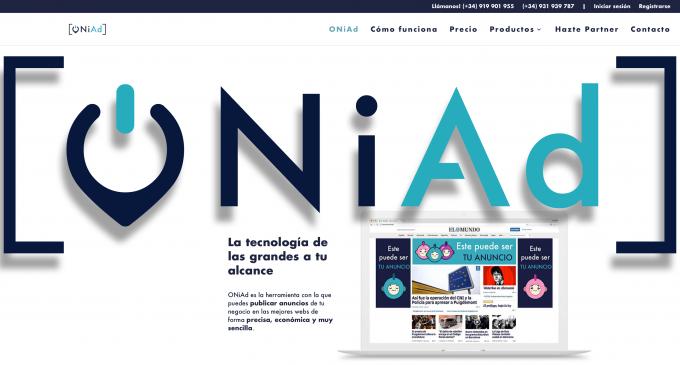 ONiAd, la tecnología que democratiza el sector de la publicidad