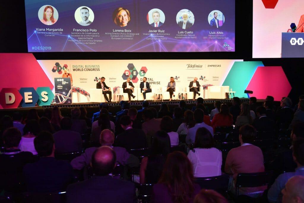 La industria 4.0 fue uno de los temas de debate en la primera jornada del DES 2019.