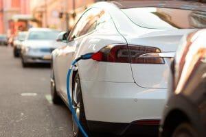 Puntos de recarga para el vehículo eléctrico.