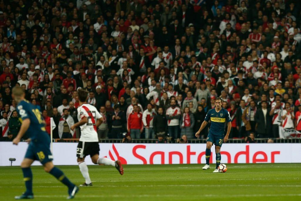 Santander también patrocina la Copa Libertadores.