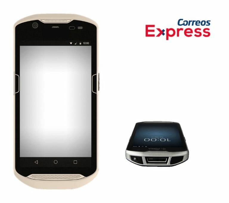 PDA Correos Express con inteligencia artificial.