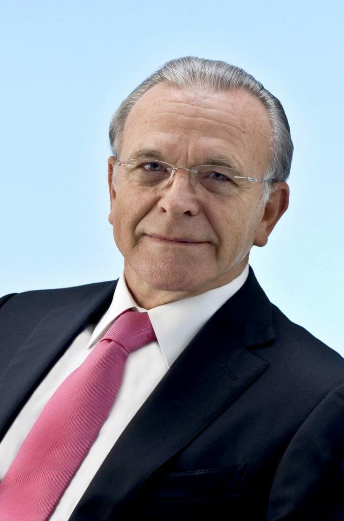 Isidro Fainé, presidente de la Fundación Bancaria la Caixa.