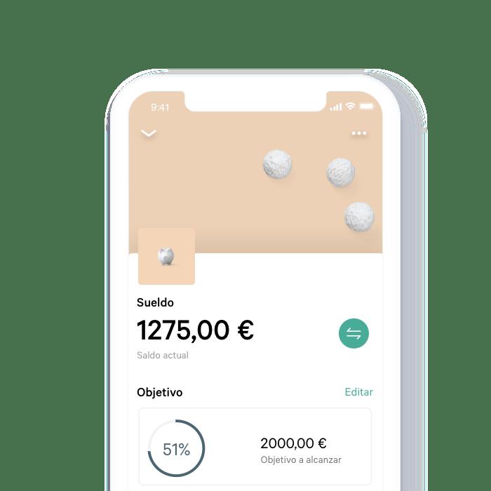 Banca móvil N26.