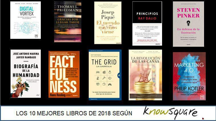 Los 10 mejores libros de negocios según Know Square.