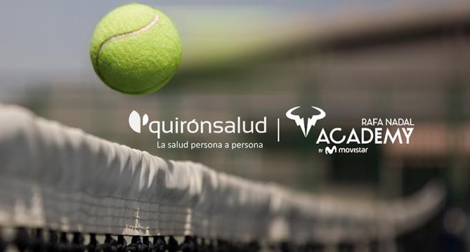 Quirónsalud, nuevo Servicio Médico Oficial de la Rafa Nadal Academy by Movistar