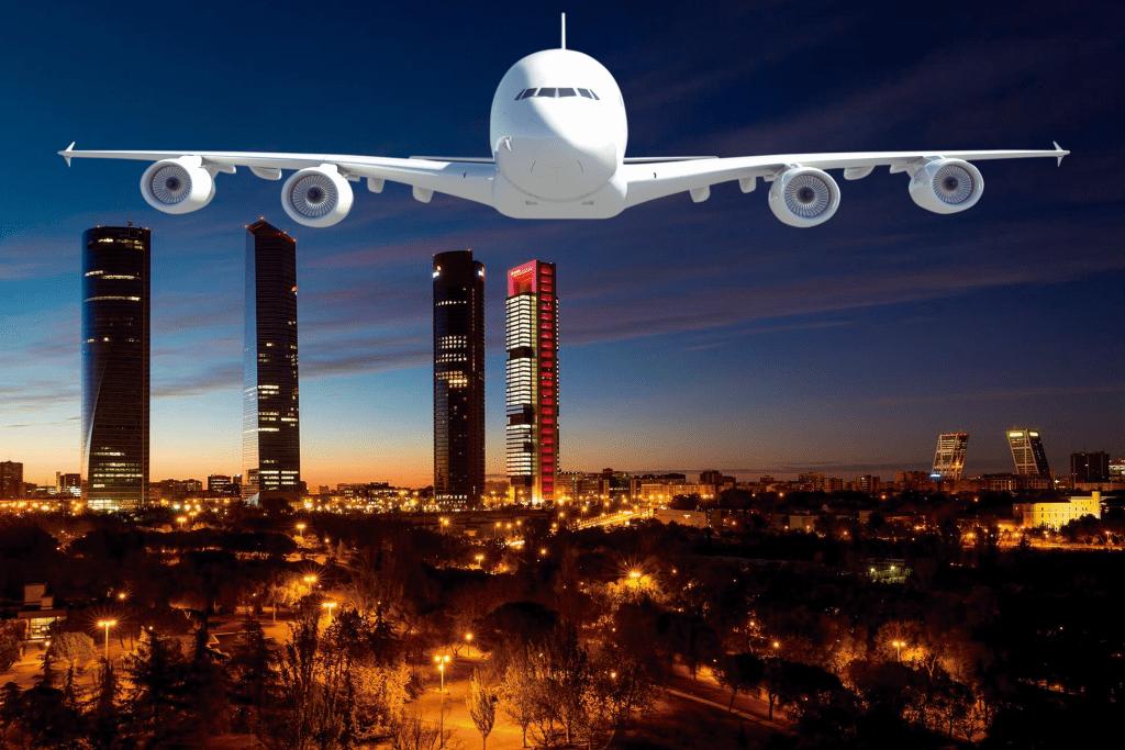 Revolución del transporte en el turismo.