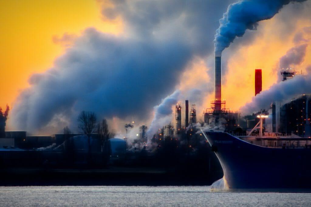 El aire que respiramos en las ciudades.