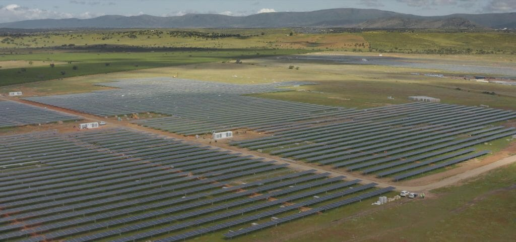Parque fotovoltaico de Endesa.