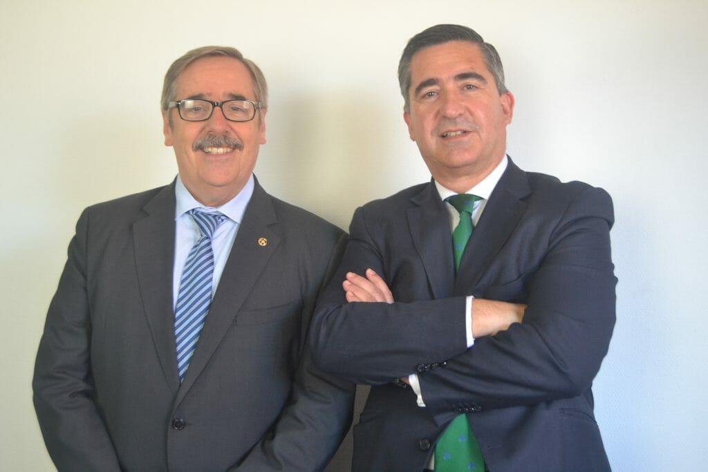 Los impulsores del CEI, Fernando Mugarza y Francisco García Cabello.