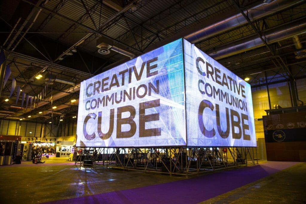 'Creative Communion Cube' formará parte de Mañana, el evento donde se presentarán las iniciativas más innovadoras y humanas que están dando respuesta a los grandes retos de nuestro tiempo.