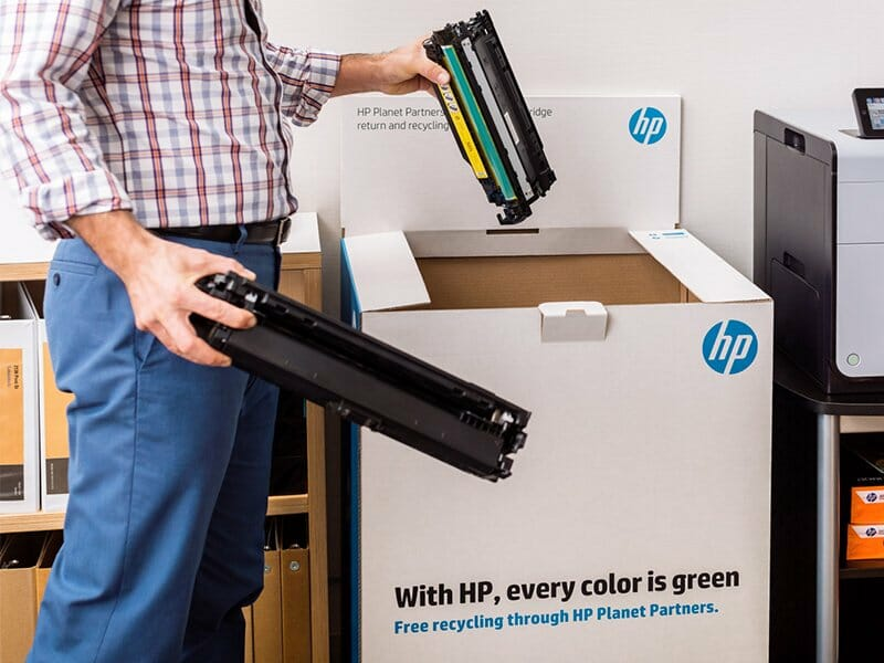 El reciclaje se impone en HP.