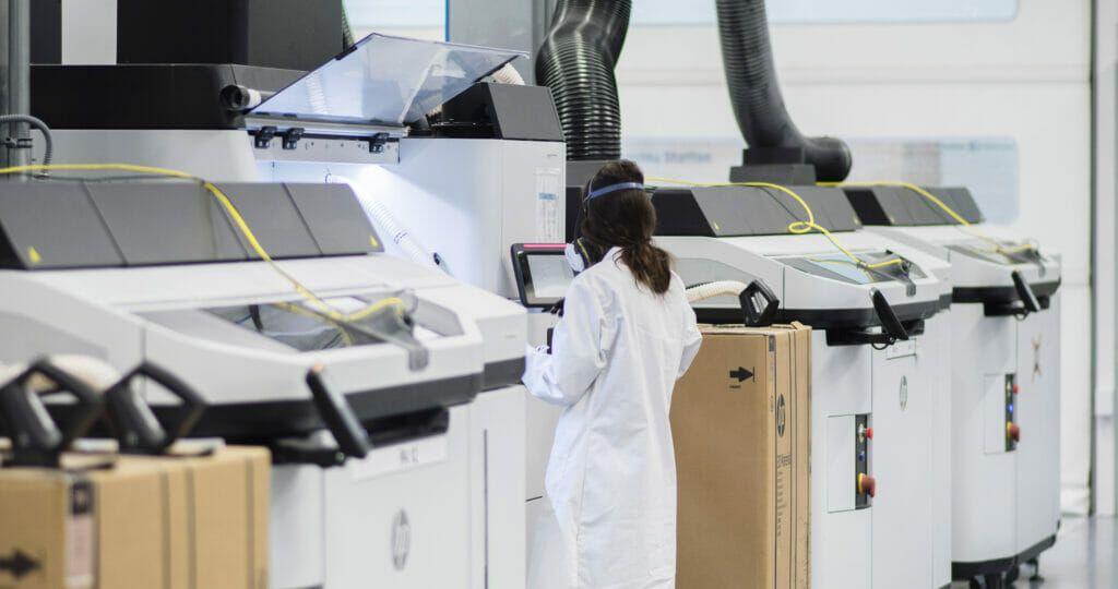 Impresoras 3D de HP.