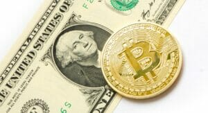 Bitcoin y dolar americano