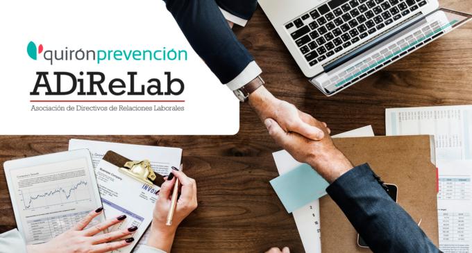 La red de ADiReLab estará protegida por Quirónprevención gracias a un acuerdo entre ambas organizaciones