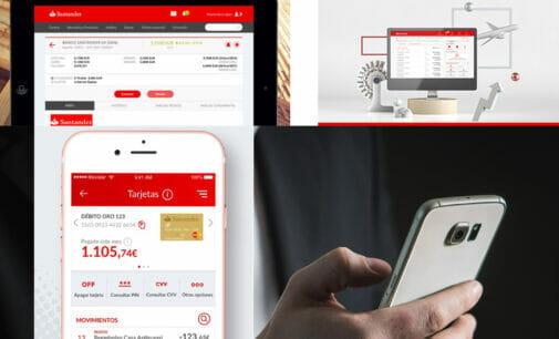 Santander espera terminar el año con 1.000 millones de accesos digitales por parte de los clientes