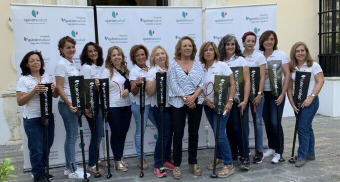 Quirónsalud apoya a unas remeras supervivientes de cáncer de mama