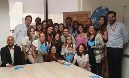 La directora de Twitter España se vuelca con el canal corporativo de la farmacéutica Sobi