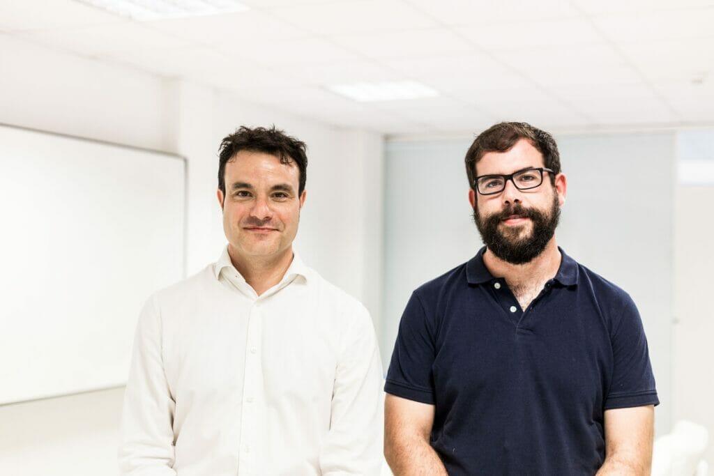 Los fundadores de la startup Homyspace.
