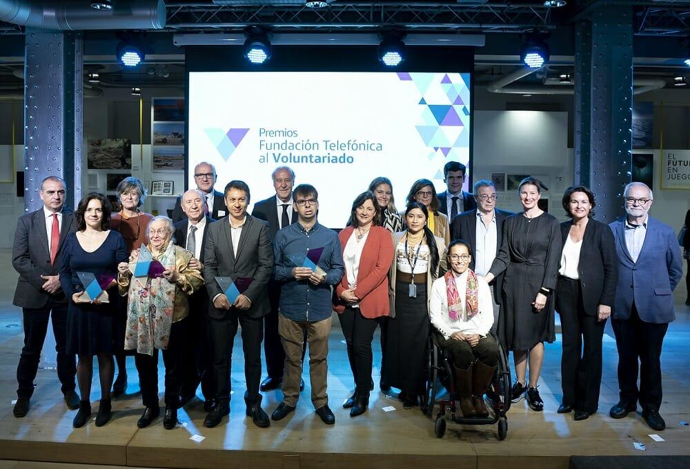 I Premios Fundación Telefónica al Voluntariado.