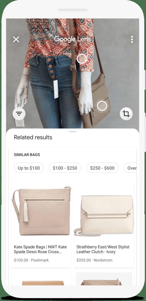 Gracias a Google Lens se pueden identificar productos con una foto.