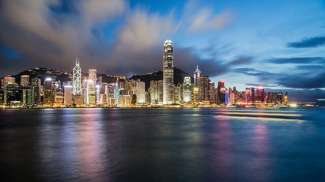 Hong Kong, clave en la economía de China.