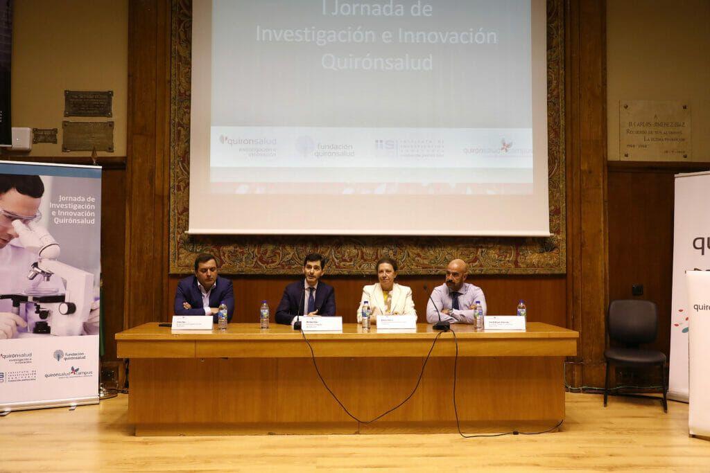 Inauguración de la I Jornada I+i de Quirónsalud.