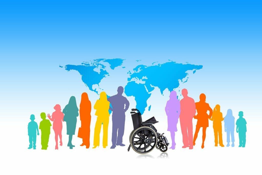 Inserción laboral de personas con discapacidad.