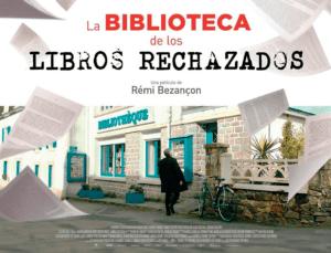 """Cartel de la película """"La biblioteca de los libros rechazados""""."""