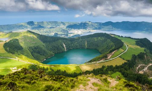 Las Azores.