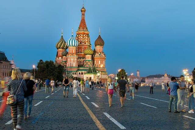 Crecimiento sostenible de la economía de Rusia.
