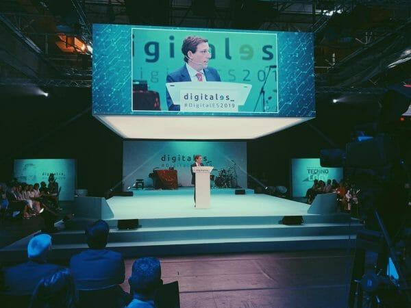 José Luis Martínez-Almeida, ha participado en la inauguración del Congreso DigitalES Summit 2019.