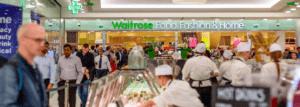 Supermercados Waitrose.