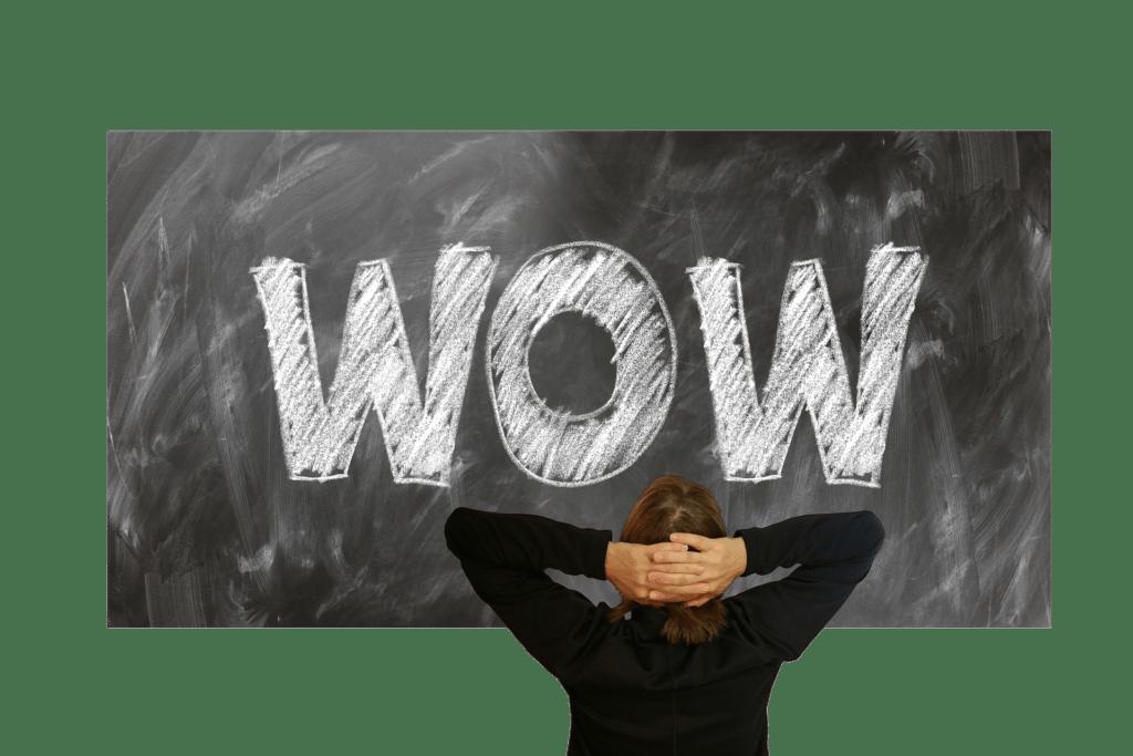 Generar un efecto wow en los empleados.