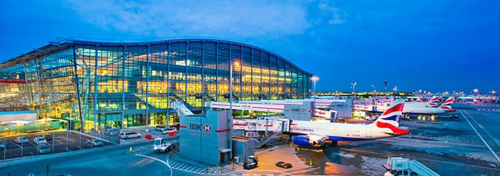 Aeropuerto de Heathrow, Londres.
