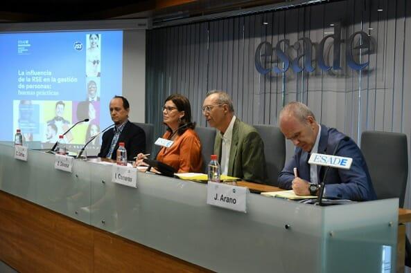 Presentación del Informe La influencia de la RSE en la gestión de personas: buenas prácticas.