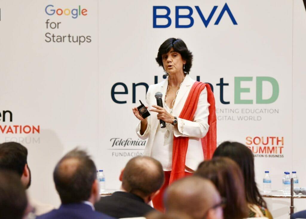 Maria Benjumea presenta el Mapa del Emprendimiento.