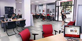 Oficina comercial de Mapfre.