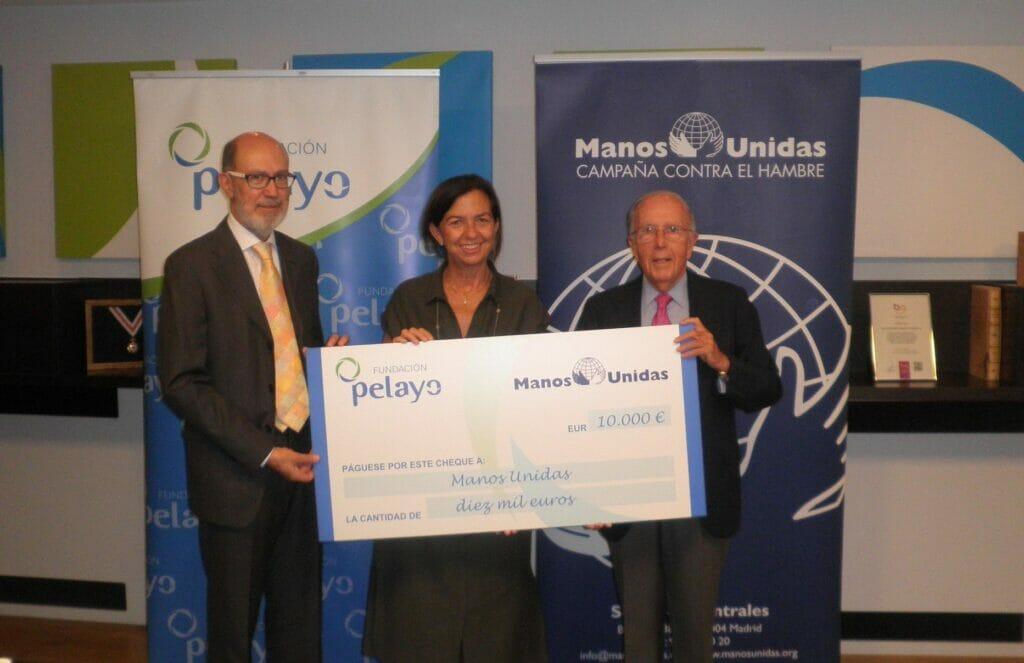 Acuerdo Fundación Pelayo con Manos Unidas.