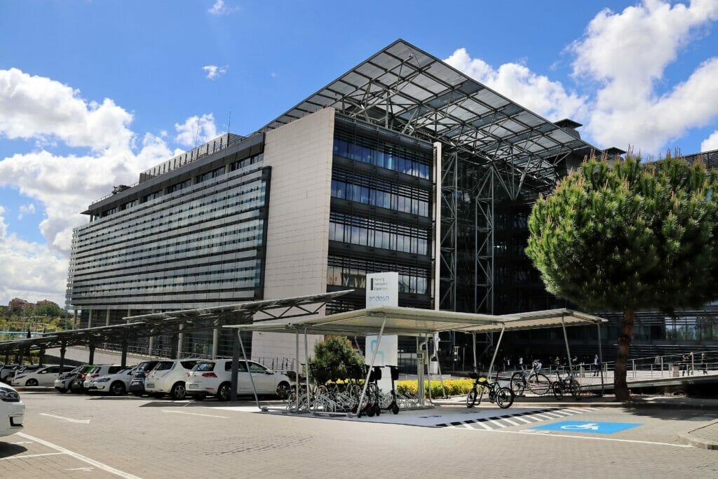 Parking de la Sede de Endesa