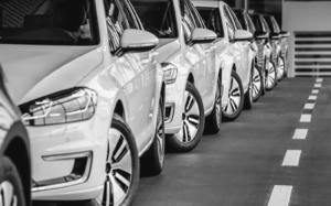 El sector del automóvil arroja cifras negativas.