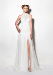 Vestido de novia.