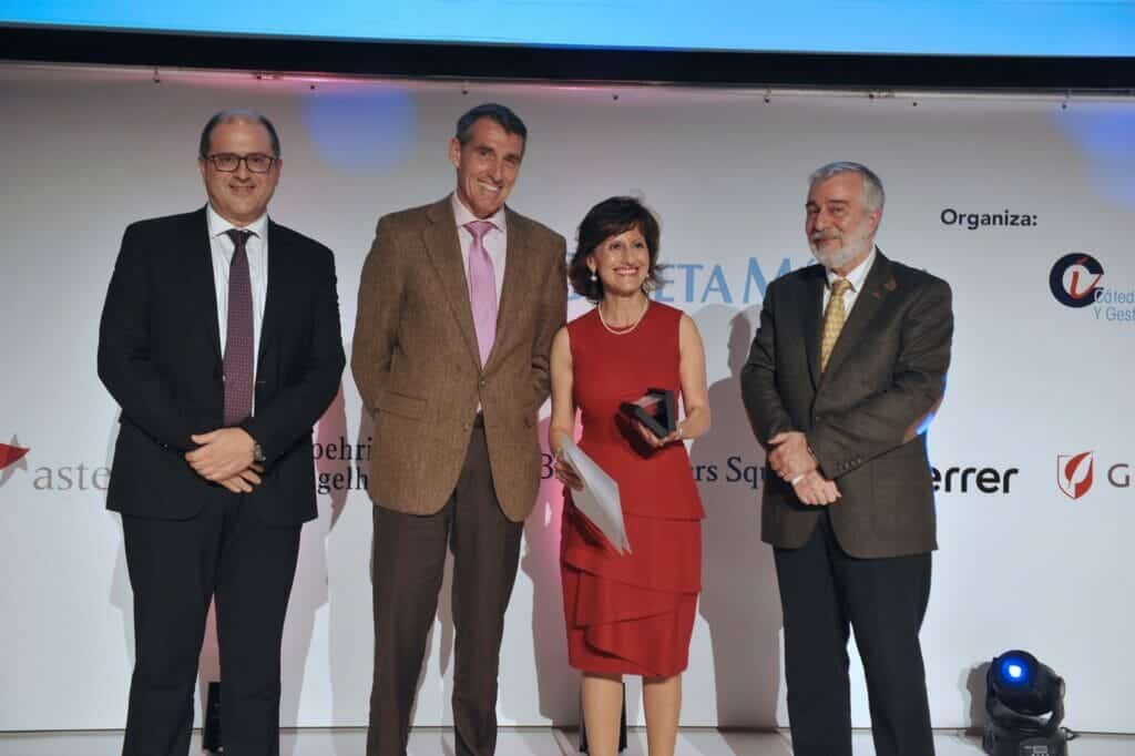 Hematología: Premio BiC de la Fundación Jiménez Díaz.