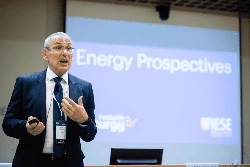 El ex comisario de Energía de la UE, Andris Piebalgs.
